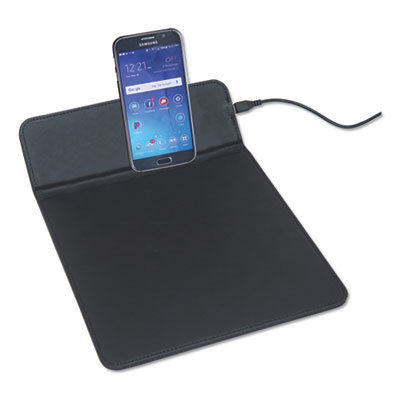"""View larger image of Wireless Charging Pads, Qi Wireless Charging, 5W, 11"""", Black"""