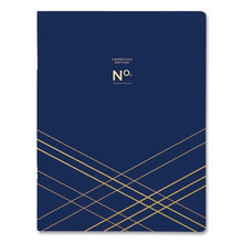 Workstyle Monthly Planner, 11 x 8.5, Stitched Blue Cover, 2021